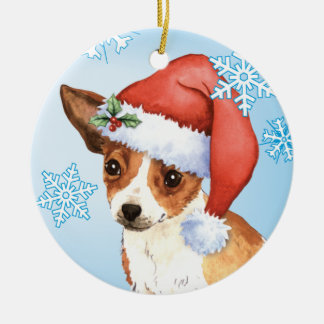 Happy Howlidays Chihuahua Christmas Ornament