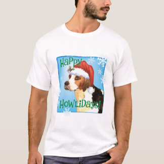 Happy Howlidays English Foxhound T-Shirt