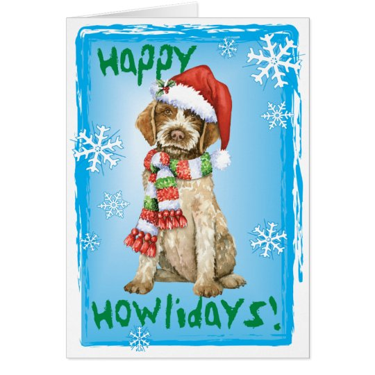 Happy Howlidays Griffon Card