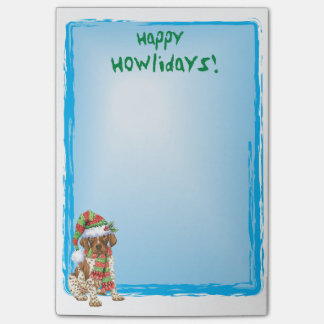 Happy Howlidays GSP Post-it Notes