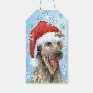 Happy Howlidays Irish Wolfhound Gift Tags