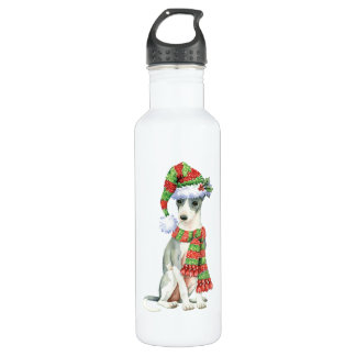 Happy Howlidays Italian Greyhound 710 Ml Water Bottle