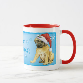 Happy Howlidays Mastiff Mug