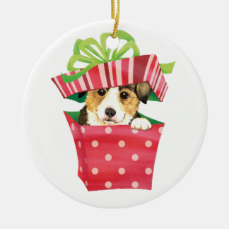 Happy Howlidays Pembroke Welsh Corgi Christmas Ornament