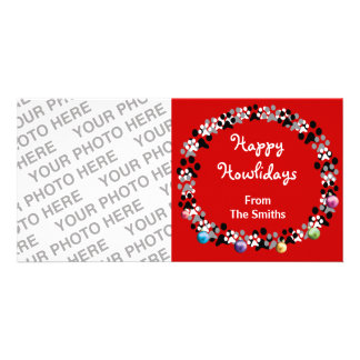 Happy Howlidays Picture Card