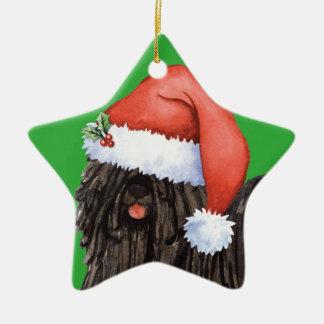 Happy Howlidays Puli Christmas Ornament
