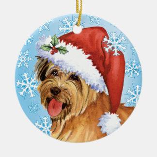Happy Howlidays Pyrenean Shepherd Christmas Ornament