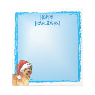 Happy Howlidays Pyrenean Shepherd Notepad