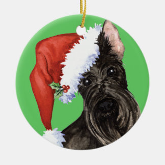 Happy Howlidays Scottish Terrier Christmas Ornament