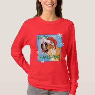 Happy Howlidays St. Bernard T-Shirt