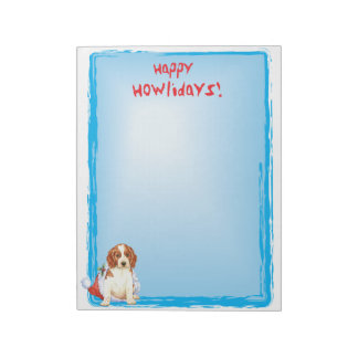 Happy Howlidays Welshie Notepad