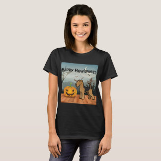 Happy Howloween Airedale Terrier T-Shirt