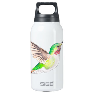 Happy Hummer Insulated Water Bottle