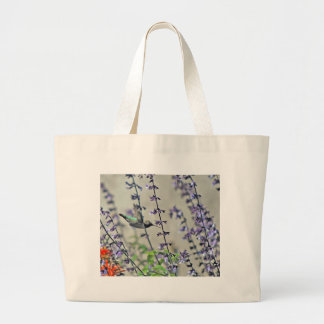 Happy Hummingbird II Jumbo Tote Bag