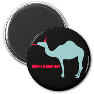 Happy Hump Day Camel Magnet