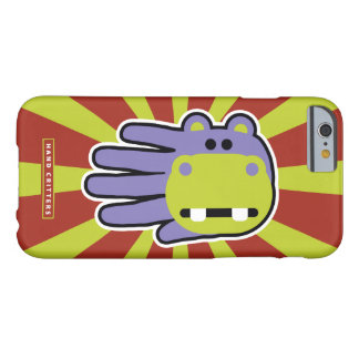 Happy Hungry Purple Hippo Barely There iPhone 6 Case