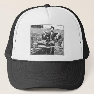 Happy Hunter Trucker Hat