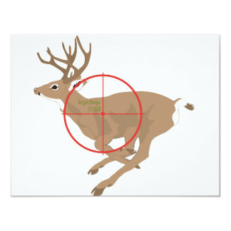 Happy Hunting Ground 11 Cm X 14 Cm Invitation Card