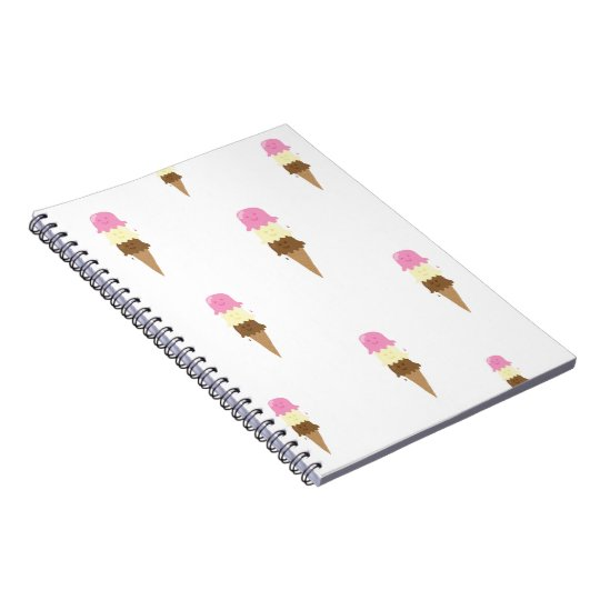 happy ice creams notebooks
