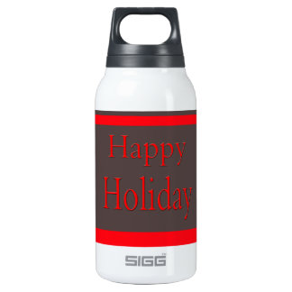 Happy Image 10 Oz Insulated SIGG Thermos Water Bottle