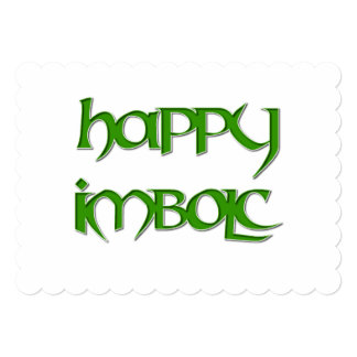 Happy Imbolc Invitation to a Wiccan Event