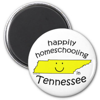 Happy in Tennessee Refrigerator Magnet