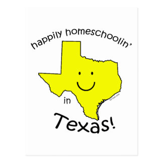 Happy in Texas Postcard