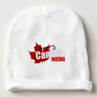 happy independance day canada flag baby beanie