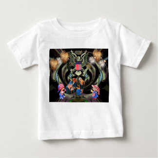 Happy Independence Day Celebration Baby T-Shirt