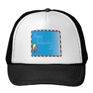 Happy Independence Day Mesh Hats