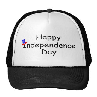 Happy Independence Day July 4 Cap