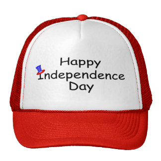 Happy Independence Day July 4 Mesh Hat