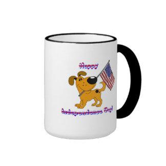 Happy Independence Day! Ringer Mug