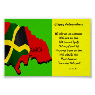 Happy independence jamaica posters