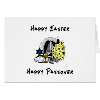 Happy Interfaith Easter and Passover Cards