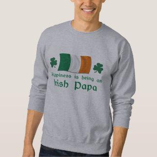 Happy Irish Papa Sweatshirt