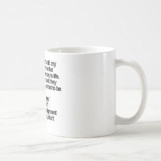 happy is me basic white mug