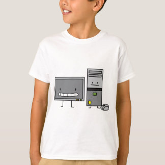 Happy IT Computer Family - Kids T-Shirt