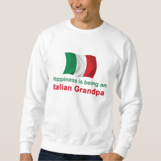 Happy Italian Grandpa Sweatshirt