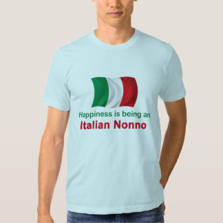 Happy Italian Nonno Tee Shirts