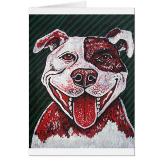 HAPPY ITALIAN PITBULL CARD