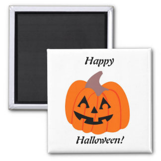 Happy Jack - Halloween Magnet 2 Inch Square Magnet