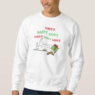 Happy Jack Russell Terrier Christmas Dog Sweatshirt