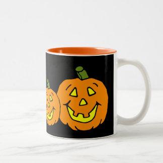 Happy Jackolanterns Two-Tone Mug