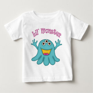 Happy Jelly Monster Design Baby T-Shirt