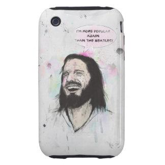 Happy Jesus Tough iPhone 3 Case