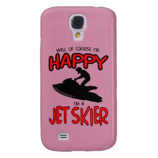 HAPPY JET SKIER (black) Galaxy S4 Case