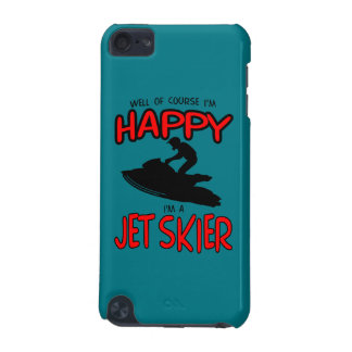 HAPPY JET SKIER (black) iPod Touch (5th Generation) Cases