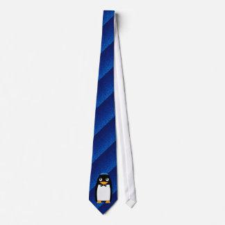 Happy Jewish Penguin Tie