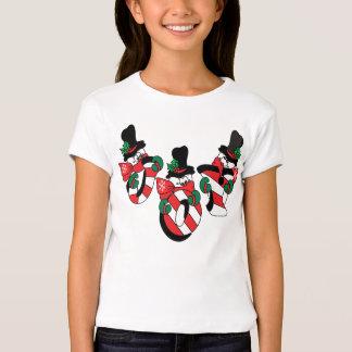 Happy Joy Snowmen   Christmas T-shirts
